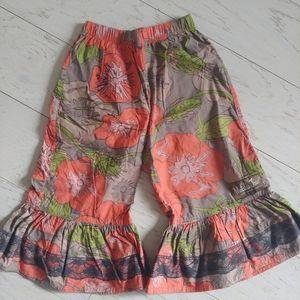 Matilda Jane big ruffles pants sz 2T